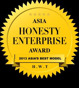 Asia Honesty Enterprise Award