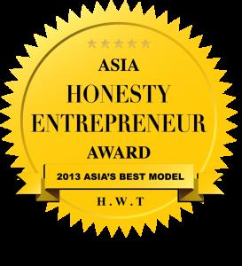 Asia Honesty Entrepreneur Award